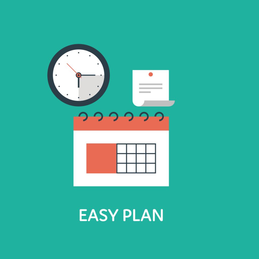 Easyplan de intelligente online planner