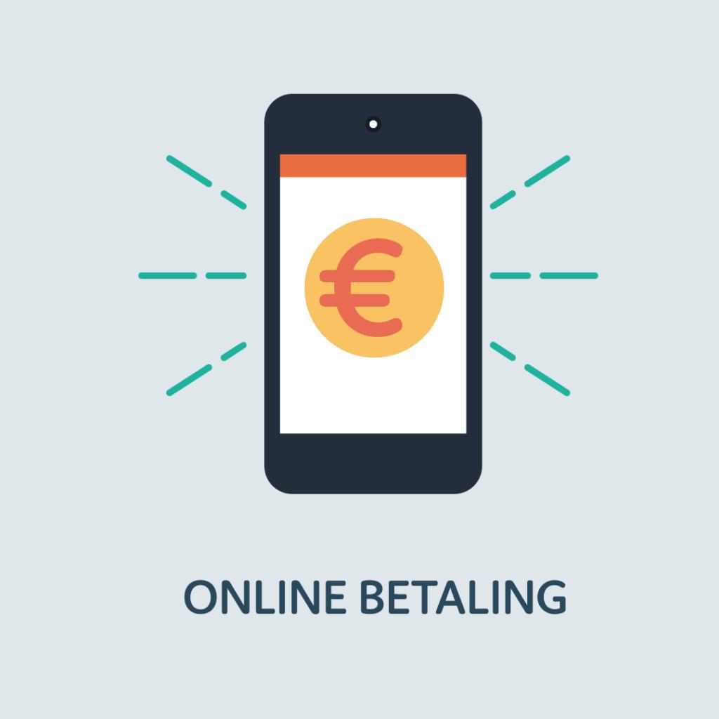 Online betalen - betaallink bij de factuur