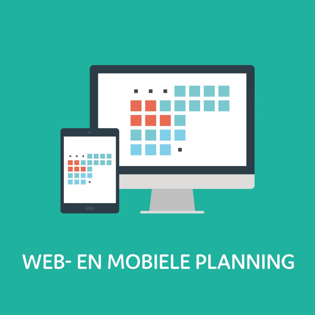 Web- en mobiele planning